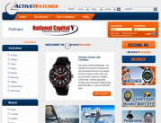 ActiveWatches Website - www.activewatches.com